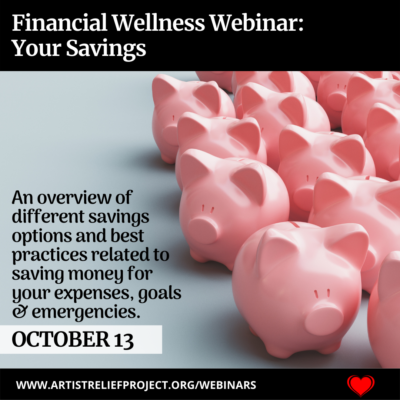 Your Savings Webinar October 13, 2021