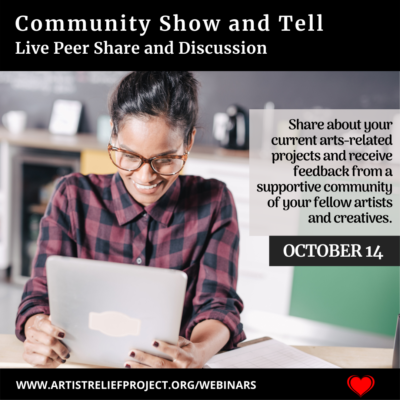 Community Show and Tell October 14, 2021
