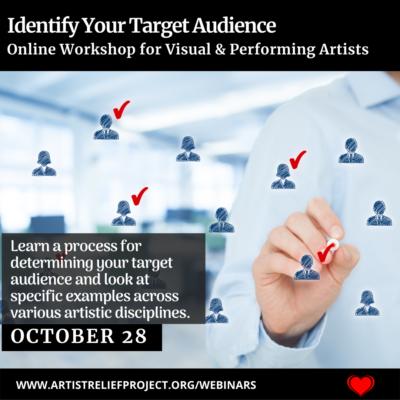 Identify Your Target Audience Webinar October 28, 2021